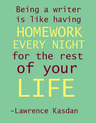 Quotes made by 13 year old peers about homework