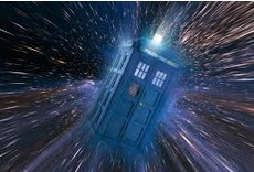 Dr Who phone box
