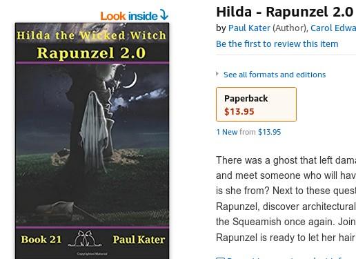 Rapunzel 2.0 paperback
